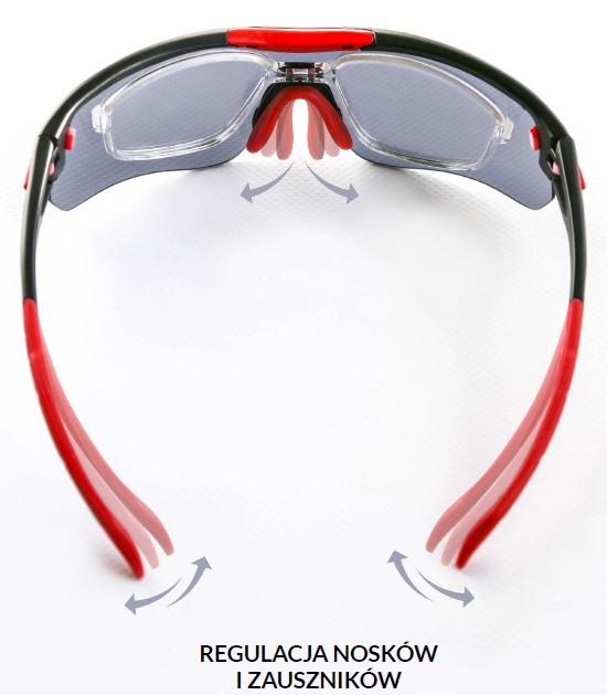 okulary sportowe solano sp 60013
